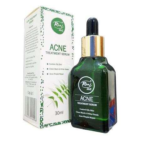 Rivaj UK Acne Treatment Serum, For Black&White Heads,Pimples