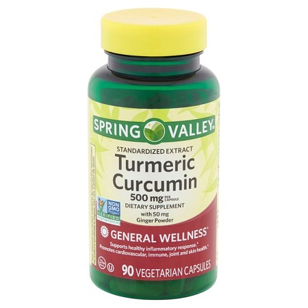 Spring valley Turmeric Curcumin:joint,skin,immune,heart &skin Health