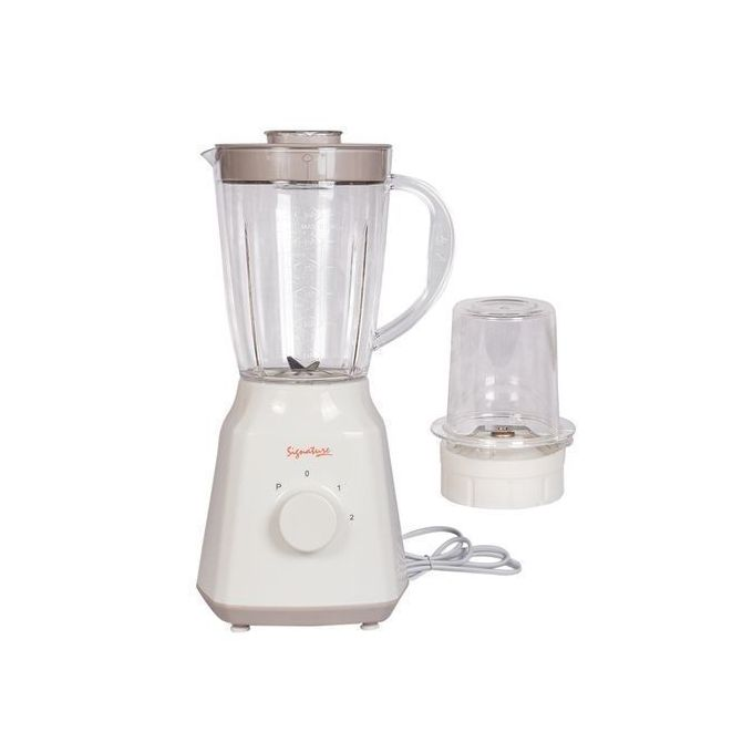 Signature Blender 2 In 1 With Grinder - 1.5 Litres - Classic Cream