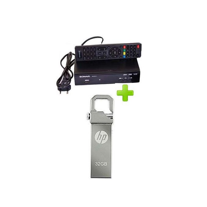 Sonar Free To Air Decoder With FREE 32gb HP Flash Drive