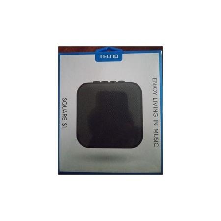 Tecno Bluetooth Mini Speaker,Square S1, Portable ,black.