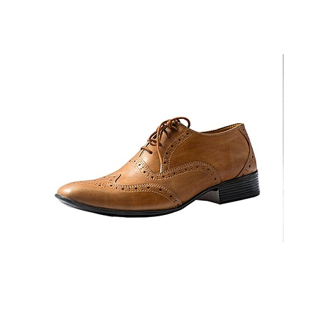 Brown Oxfords Wing-tips