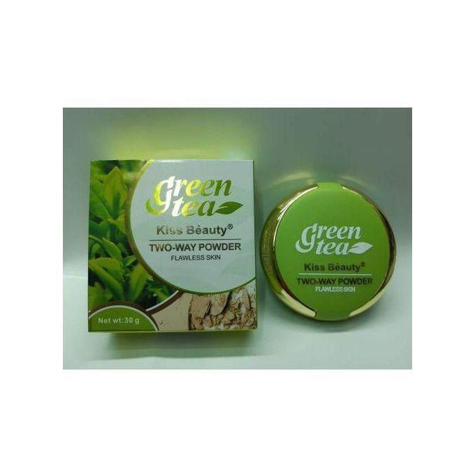 Kiss Beauty Two Way Green Tea Powder