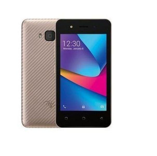 Itel A14, 4 Inch, 512 MB + 8 GB, (Dual SIM), 1500mAh - Black
