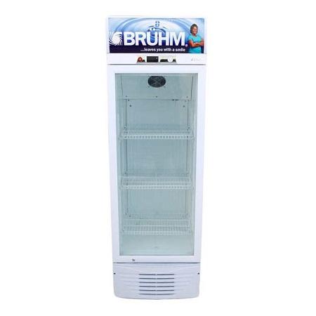 Bruhm BFV-230SD - Beverage Cooler - 7 Cu.Ft - 180 Litres - Grey