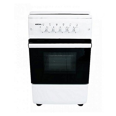 Bruhm BGC 6640NW - Free Standing Gas Cooker - 60cm x 60cm - White
