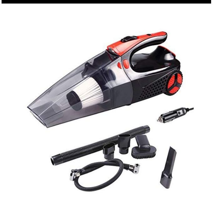 STR Multifunctional Car Vacuum Cleaner With Compressor