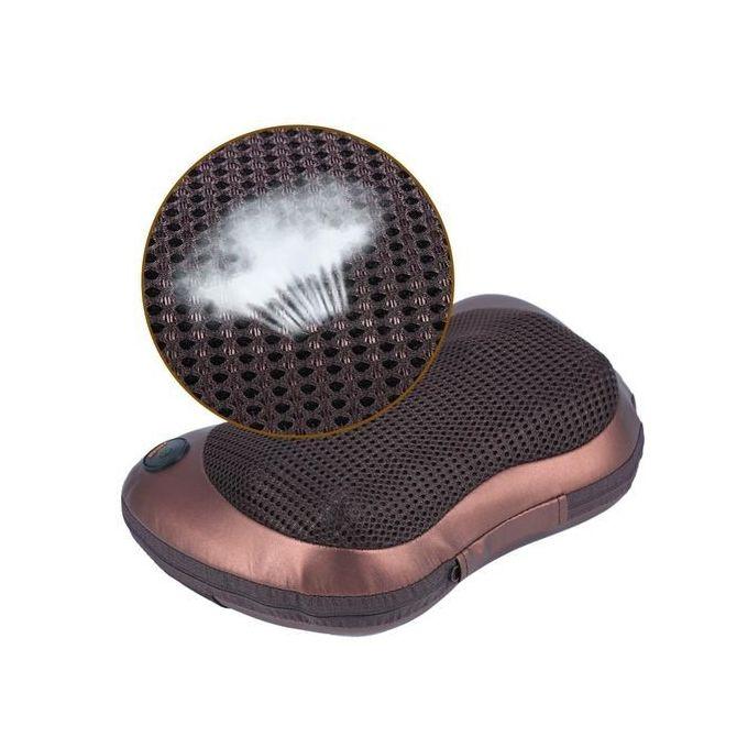 Universal Electronic Heat Deep Kneading Massager Cushion Lumbar Neck Back Shoulder Relax