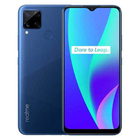 Realme C15: 6.5inches, 128GB ROM + 4GB RAM, 13MP, 4G, 6000MAh