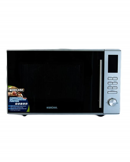 Bruhm BMO 930AC - Microwave with Grill & Convection - 30 Litres