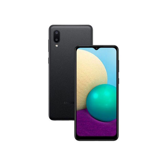 Samsung Galaxy A02: 6.5 Inches, 32 GB ROM+ 2 GB RAM, 5000mAh- Black