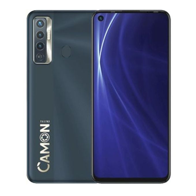 Tecno Camon 17:  6.6 inches, 128GB ROM +4GB RAM, 5000mAh