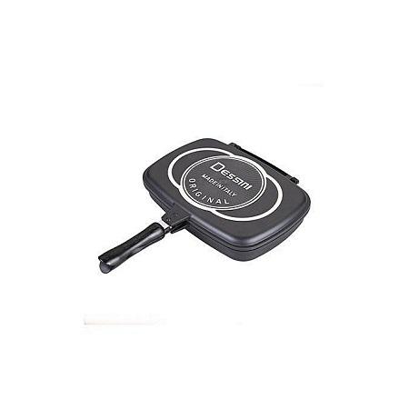 Dessini 40CM Double Grill Non-stick Pan - Black