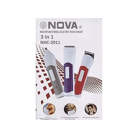 Nova Shaver trimmer clipper 3 in 1 Electric shaver