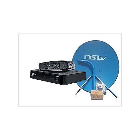 Dstv Full KIT - HD Decoder 5s - Black + Dish