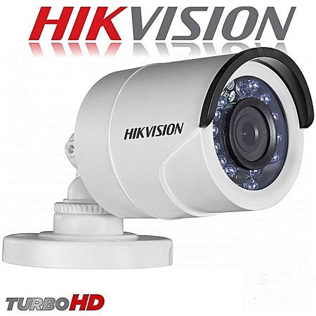 HikVision 4 Channel Complete CCTV Kit- Turbo HD DVR With 4 Bullet HD Camera Plus 500Gb HDD