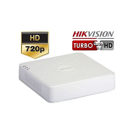 HikVision 4 Channel TURBO HD DVR - White
