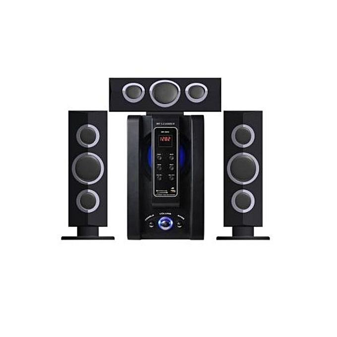LEADDER SP-353B - 3.1 Channel Bluetooth FM Multimedia Speaker Subwoofer - Black