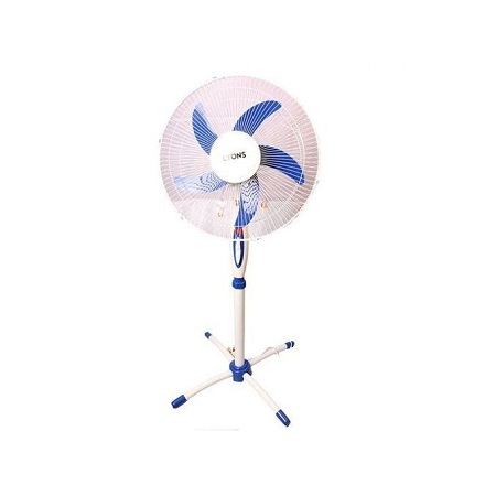 Lyons Stand Fan Powerful Blue