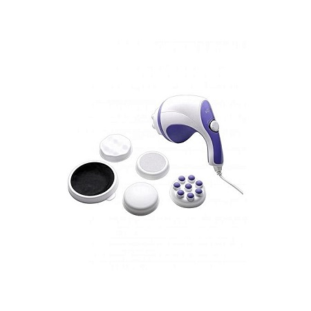 Generic Full Body Sculptor Massager - Relax & Spin - Tone Slimmer - White & Purple