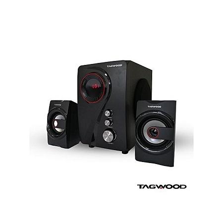 TAGWOOD MP-55 Multimedia Speaker System With Bluetooth - Black.