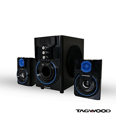 TAGWOOD Mp-42a Multimedia Speaker System With Bluetooth
