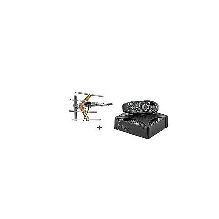 GOtv GOtv Digital Set Box Decoder With GOTV Digital Aerial- - Black