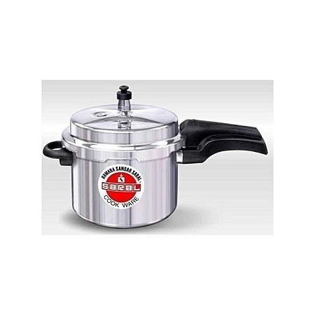 Aluminum Pressure Cooker - 5 Litres