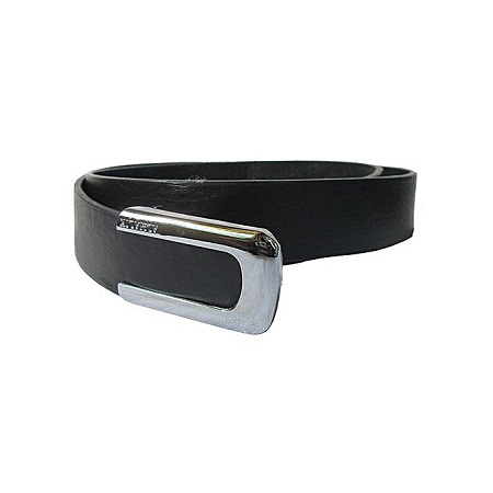 Fashion Men's Leather Belt Casual Business- Black
