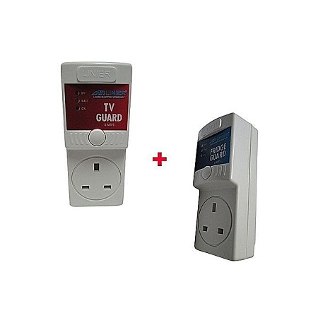 Linier Fridge Guard Voltage stabilizer with free tv guard