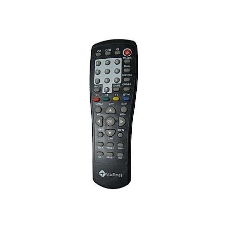 Generic Startimes Decoder Remote - Black