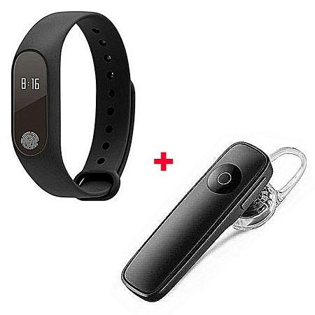 M2 New Smart Health Wrist Bracelet Heart Rate Monitor Free Bluetooth -Black