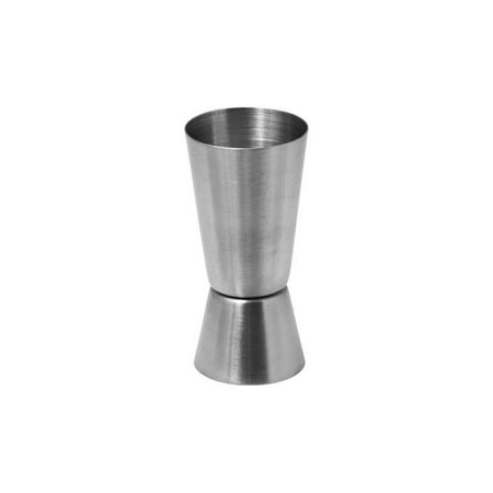 Generic Double Tot Measure Jigger Bar Stainless Steel Cup 30/60ml