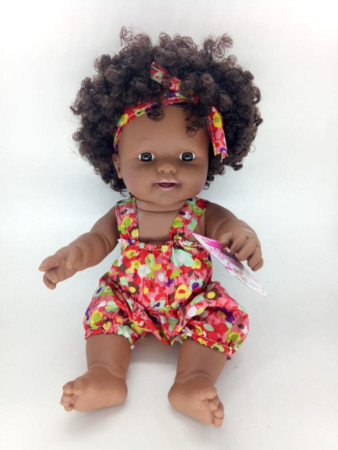 Beautiful African Play Doll
