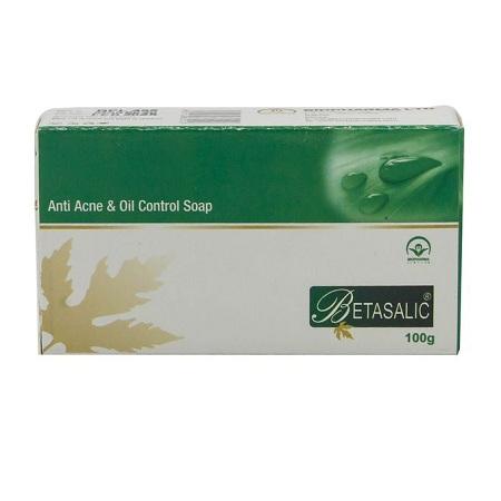 Bio Pharma Betasalic Anti Acne & Oil Control Soap - 100g - Green