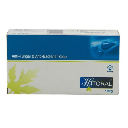 Bio Pharma Hitoral Anti-Fungal & Anti-Bacterial Soap - 100g - Blue