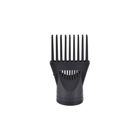 Black Blow Dryer Comb Attachment