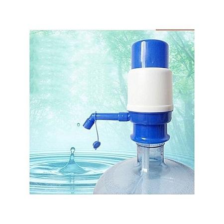 Bomba Manual Drinking Water Pump - White & Blue