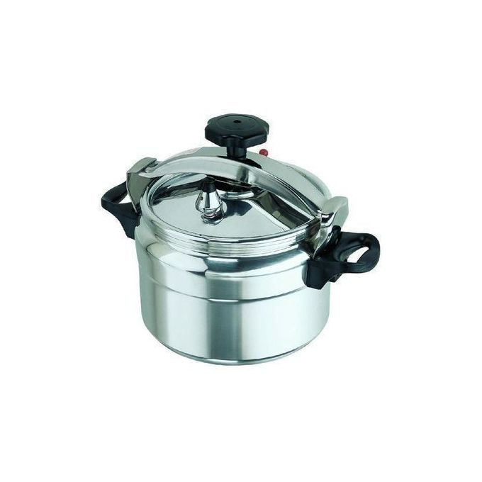 Pressure Cooker - Explosion Proof - 9 Litres - Silver