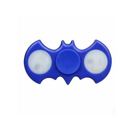 Batman Fidget Spinner LED - Blue