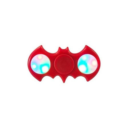 Batman Fidget Spinner LED - Red