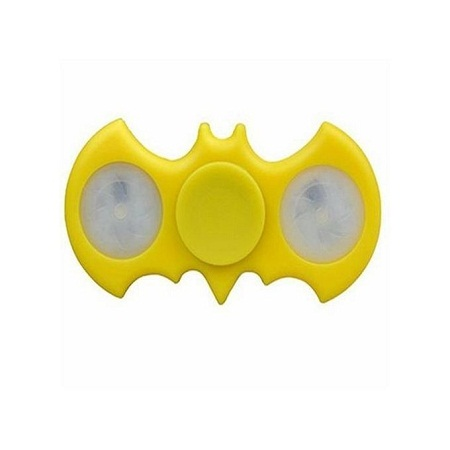 Batman Fidget Spinner LED - Yellow