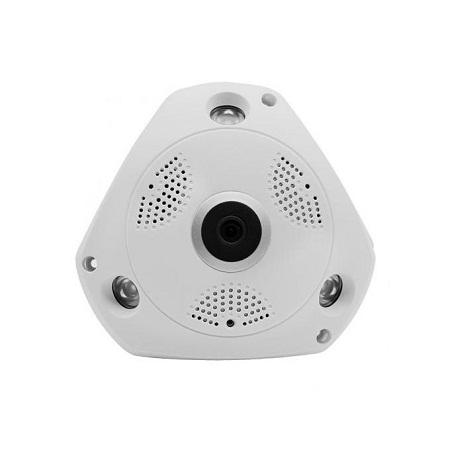 Fisheye 1080P IP WiFi Camera 360 Degree Camera - White