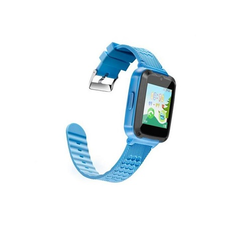Kids Fun Smart Watch with Camera Games SIM Slot - Blue
