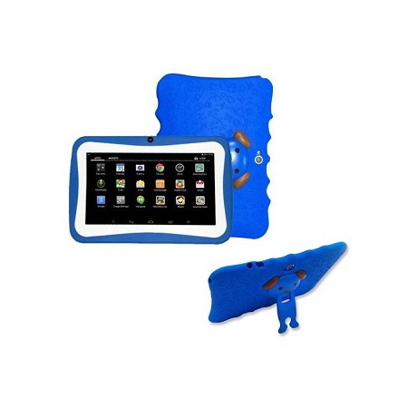 7 inch Quad Core Android Tablet for Kids Camera WiFi - Blue