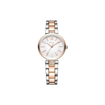 Kimio Gold & Silver Wrist Watch KW6133
