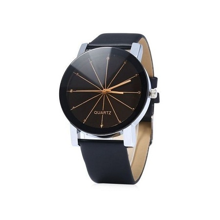 Quartz Male Analog Quartz Watch Classic - Black