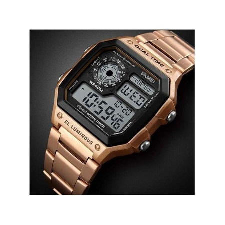 Skmei Top Brand Luxury Mens Business Watches 1335 - Rose Gold