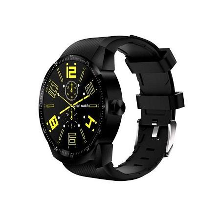 Top Brand WiFi Dual Core Heart Rate K98H Smart Watch - Black