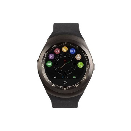Smart Gear Y1 Sporty Smart Phone Watch - MTK6261- Bluetooth 3.0 280mAh - Black